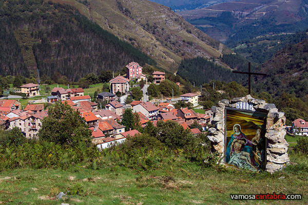 Vista de Garabandal desde Los Pinos