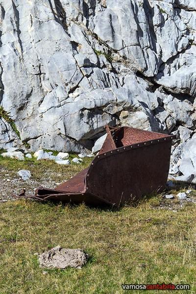 Vagoneta abandonada