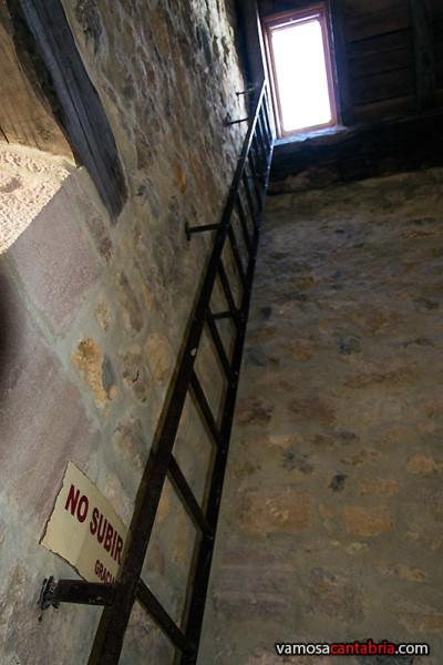 Subida al techo de la torre