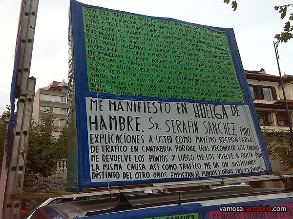 El indignado de Cantabria III